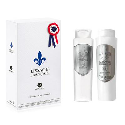 Lissage Français - Coffret Lissant à la Fleur de Lys - 2 x 400 ml - Myriam K