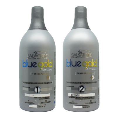 Lissage au Tanin - Salvatore Blue Gold Premium - Taninoplastie