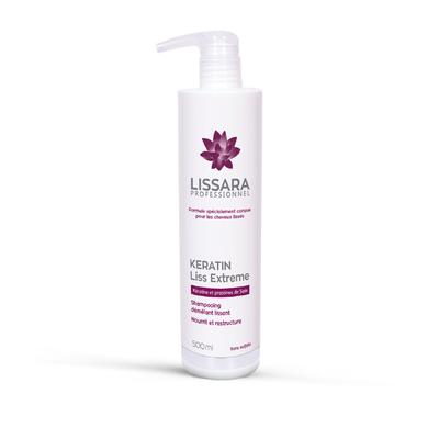 Lissara - Shampoing Entretien Lissage - Sans sulfates - 500ml