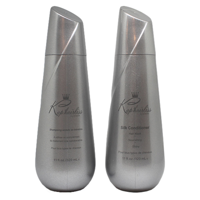 Kit Entretien Lissage - Shampoing + Conditionneur - Kap'Hairliss System - 2 x 320 ml
