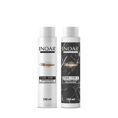 Inoar Marroquino - Kit Lissage Brésilien - 2 x 100 ml - 1 application