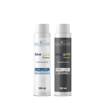 Lissage au Tanin - Salvatore Blue Gold Premium - 2 x 100 ml