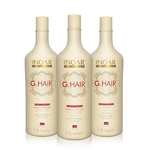 Inoar Ghair Premium - Kit Lissage Brésilien - 3 x 1000 ml