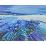 affiche reproduction tableau art artiste plage mer contemporain