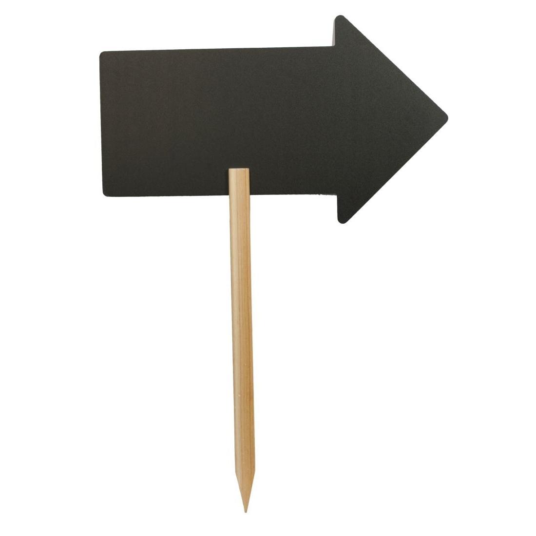 Panneau flèche de direction Securit