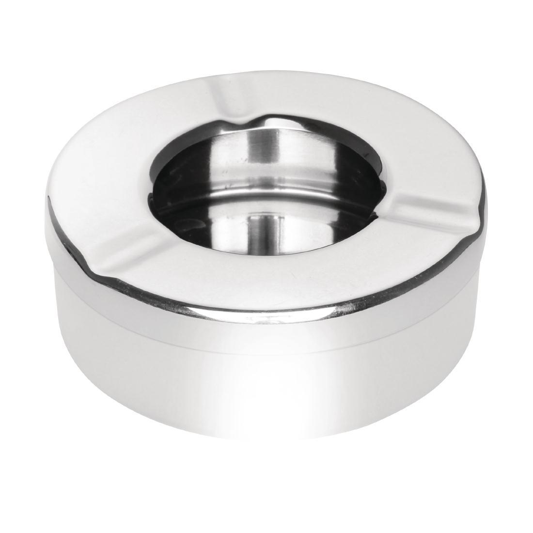 Cendrier inox anti-vent  90mm