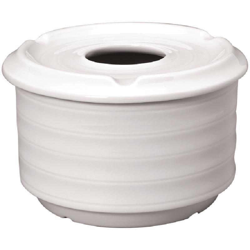 Cendrier d\'eau Intenzzo White 110mm par 4