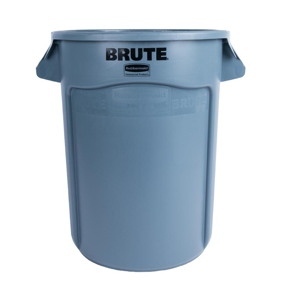 Collecteur Rubbermaid Brute gris 121,1L