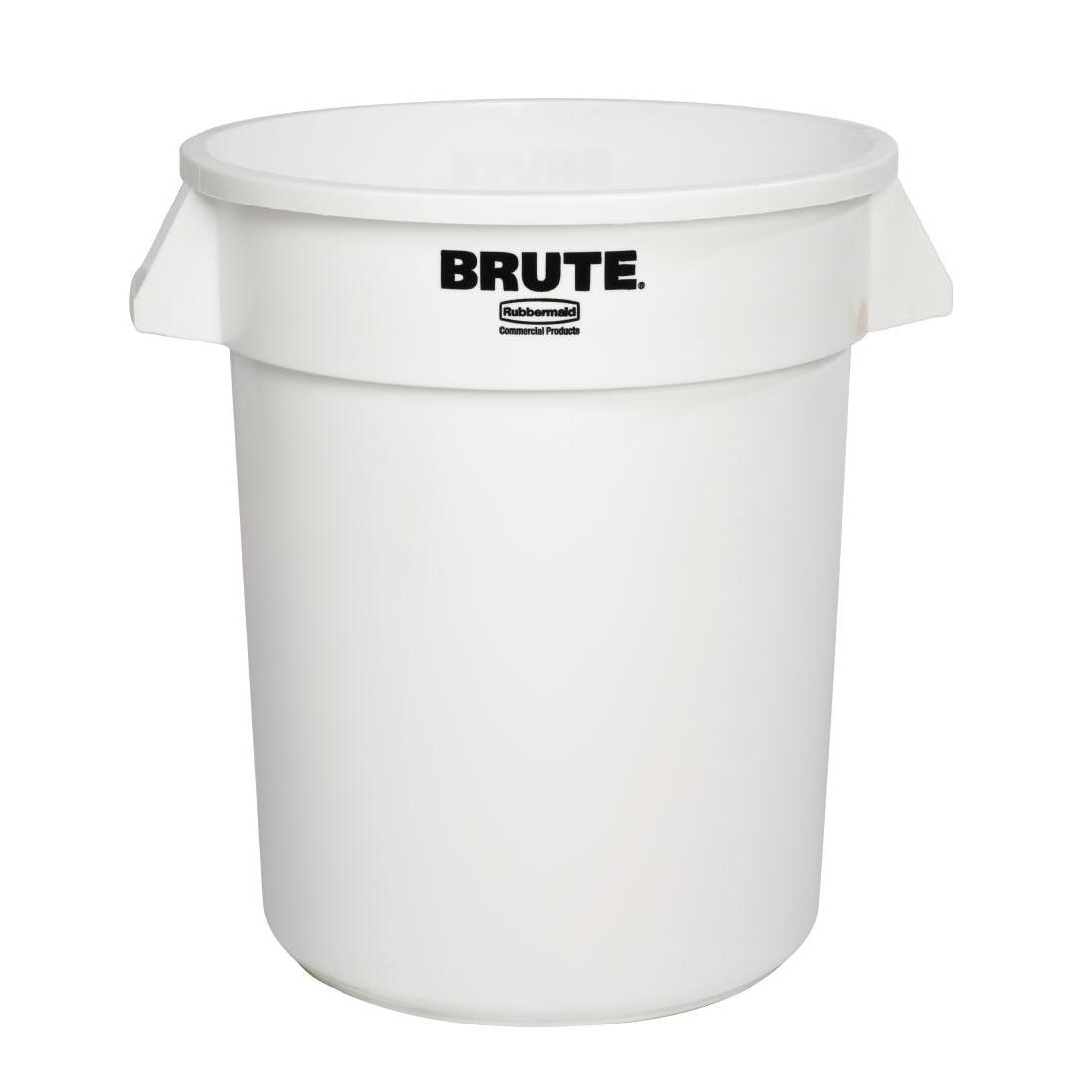 Collecteur Rubbermaid Brute blanc 37,9L