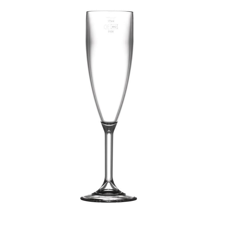Flûte à champagne polycarbonate 200ml par 12