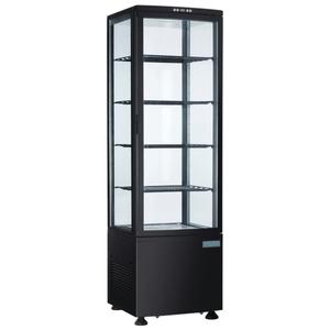 Vitrine réfrigérée avec portes incurvées Polar Série C 235L
