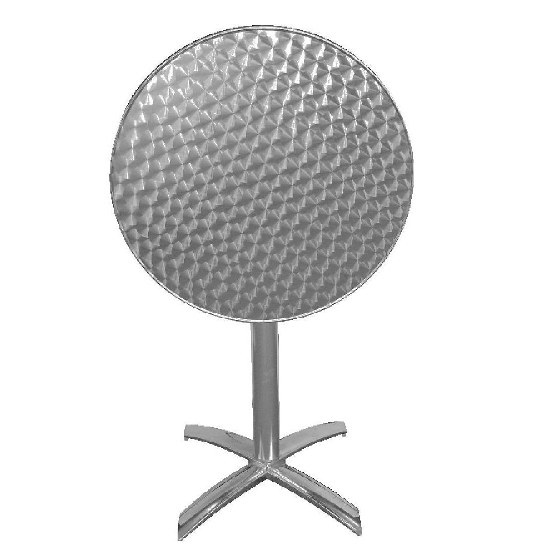 Table à plateau basculant en acier inoxydable