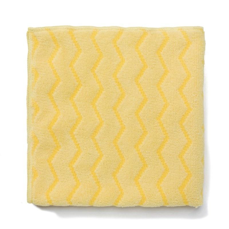 Carré Rubbermaid HYGEN en microfibre - jaune