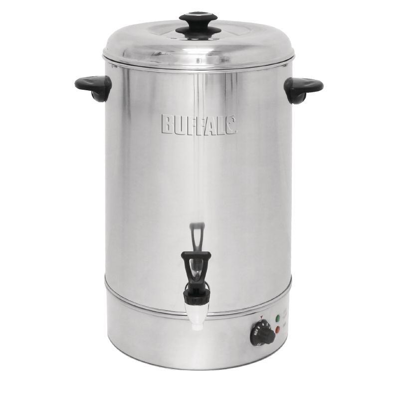 Chauffe-eau de comptoir à remplissage manuel 30L inox