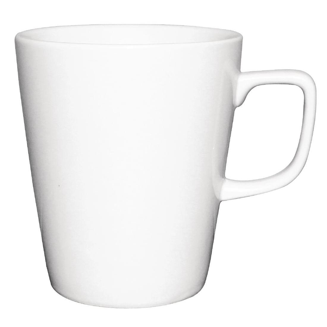 Tasses mugs à café latte Athena Hotelware 397ml par 12