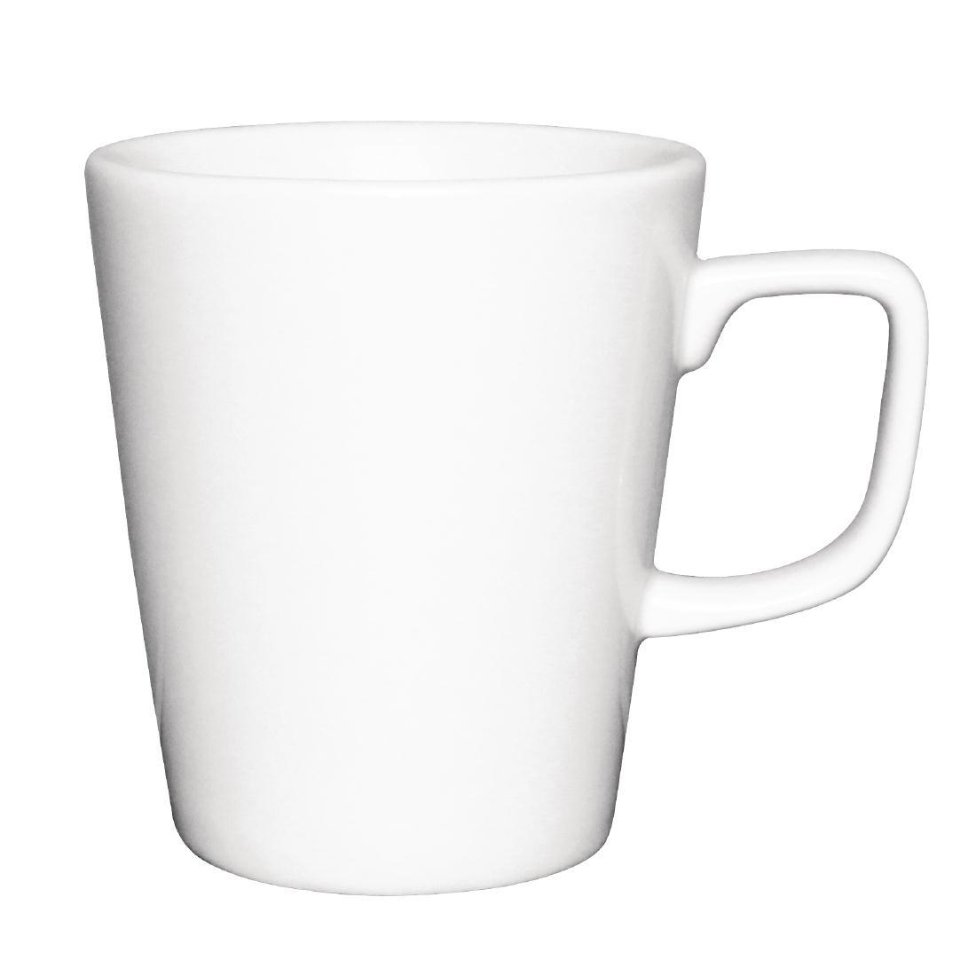 Tasses mugs à café latte Athena Hotelware 285ml par 12