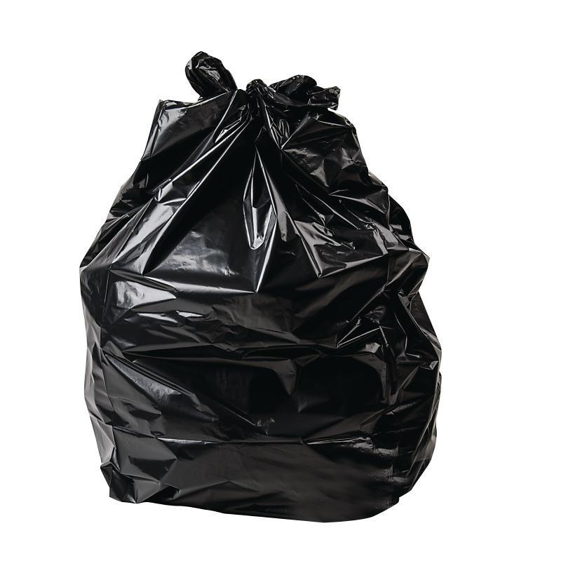 Sacs poubelles 80L noirs par 200