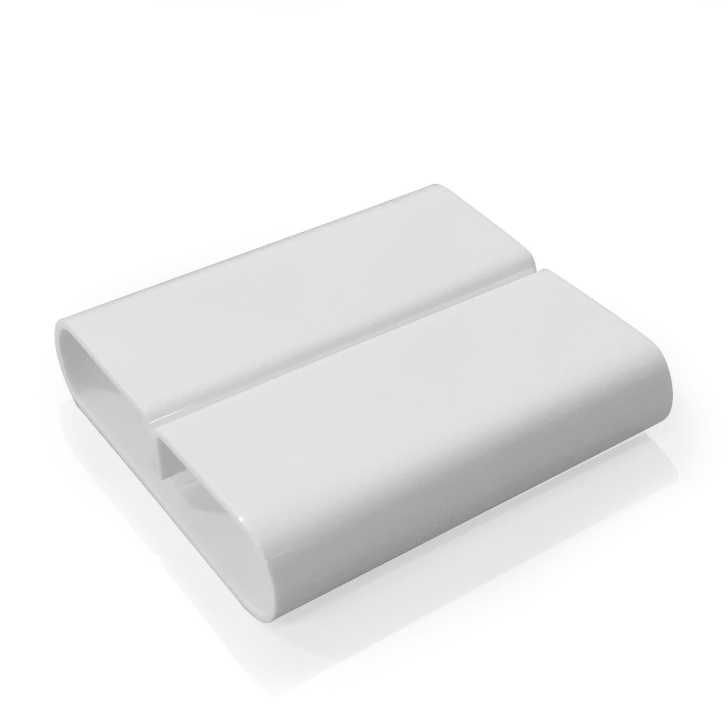 Support Menu Blanc 80x72x20(h)mm par 6