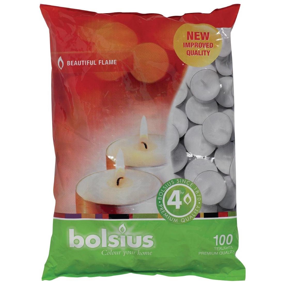 Bougies chauffe plats Bolsius 4 heures par 100