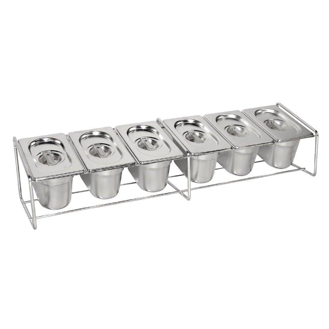 Support métallique bac gastro