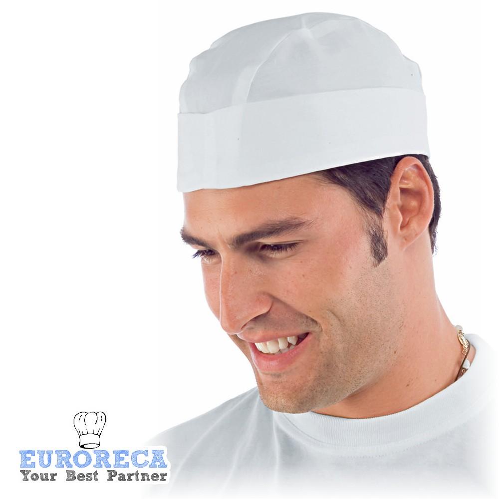Berret de boucher COPPOLLA blanc