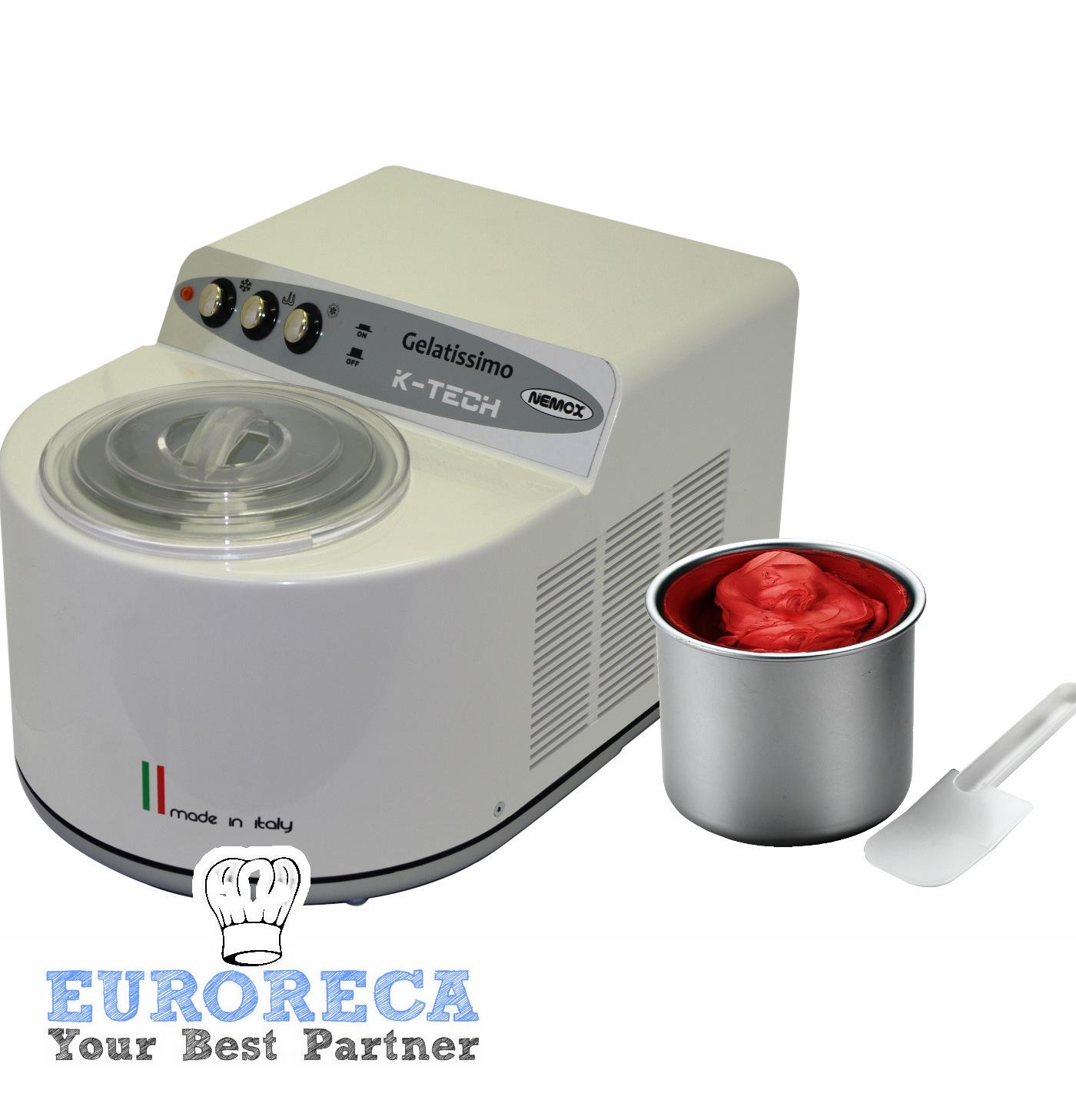 Machine à glace Gelatissimo Ktech Bianca Nemox