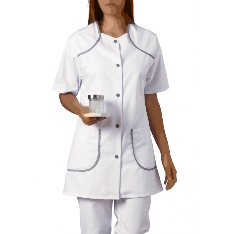 blouse-medicale-femme-bertille-blanc-gris