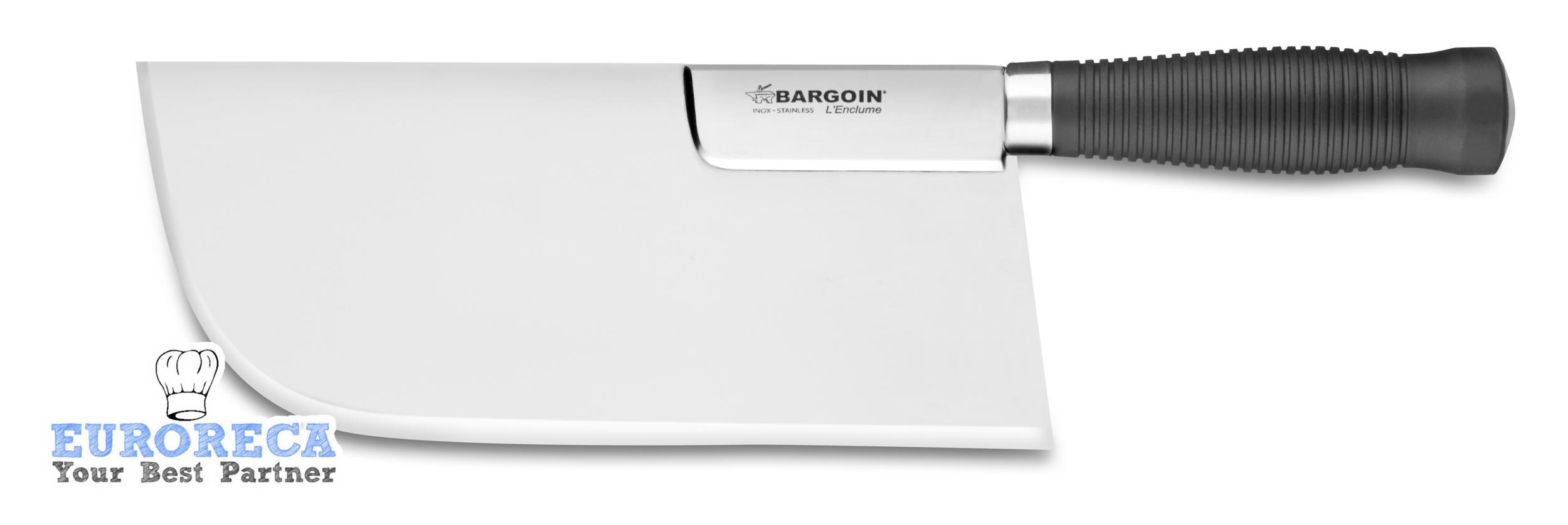 Feuille de boucher renforcée dos droit 26cm BARGOIN