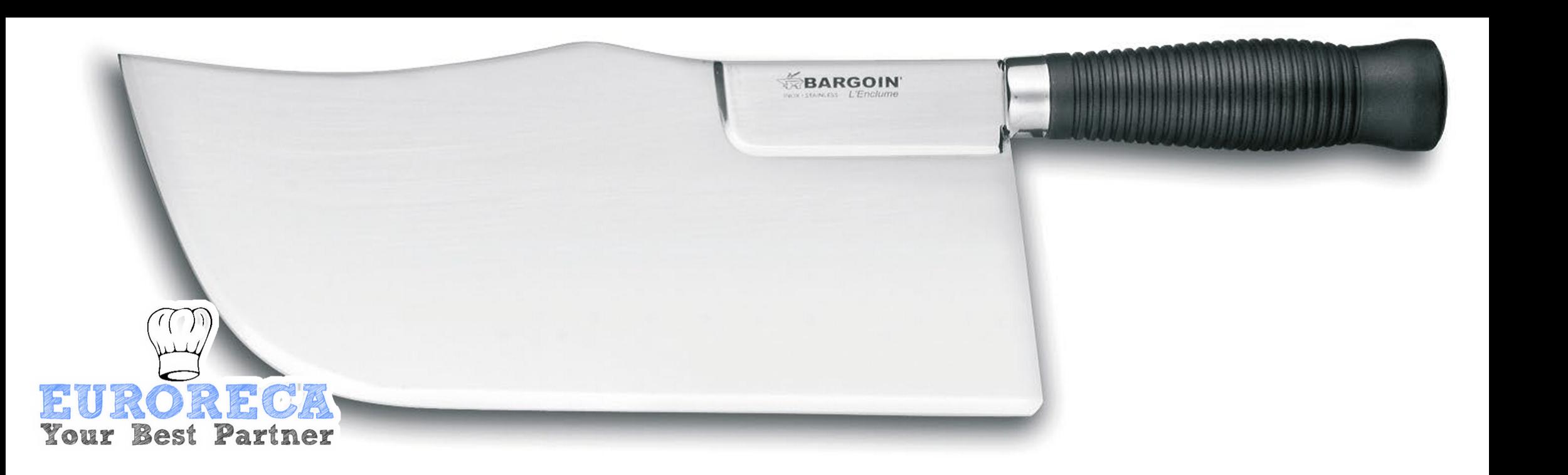 Feuille de boucher renforcée dos cintré 26cm BARGOIN