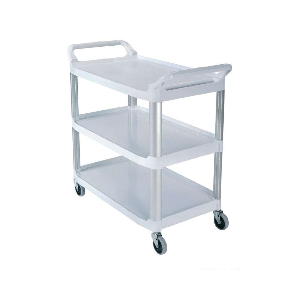 Chariot utilitaire Rubbermaid X-tra blanc