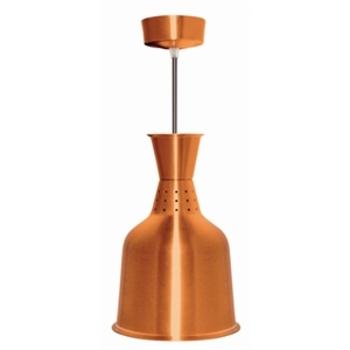 Lampe chauffante en aluminium laiton