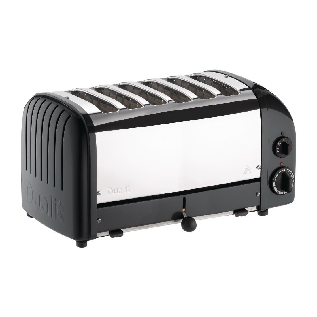 Grille-pain 6 fentes Dualit noir 60145