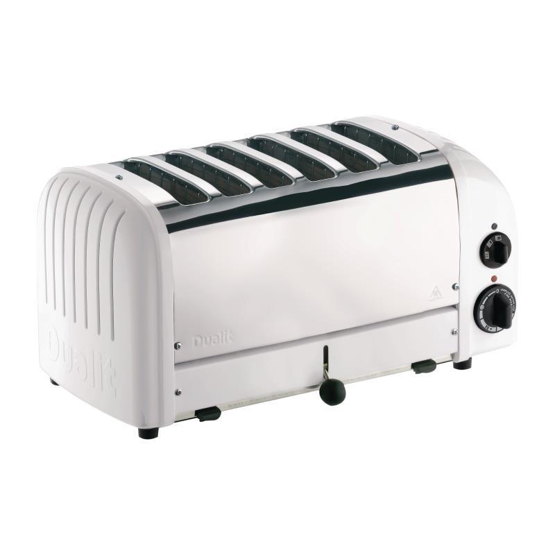 Grille-pain 6 fentes blanc Dualit 60146