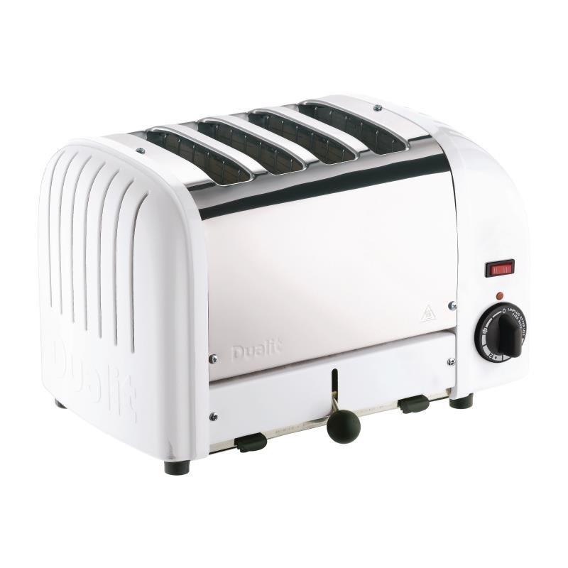 Grille-pain 4 fentes blanc Dualit 40355