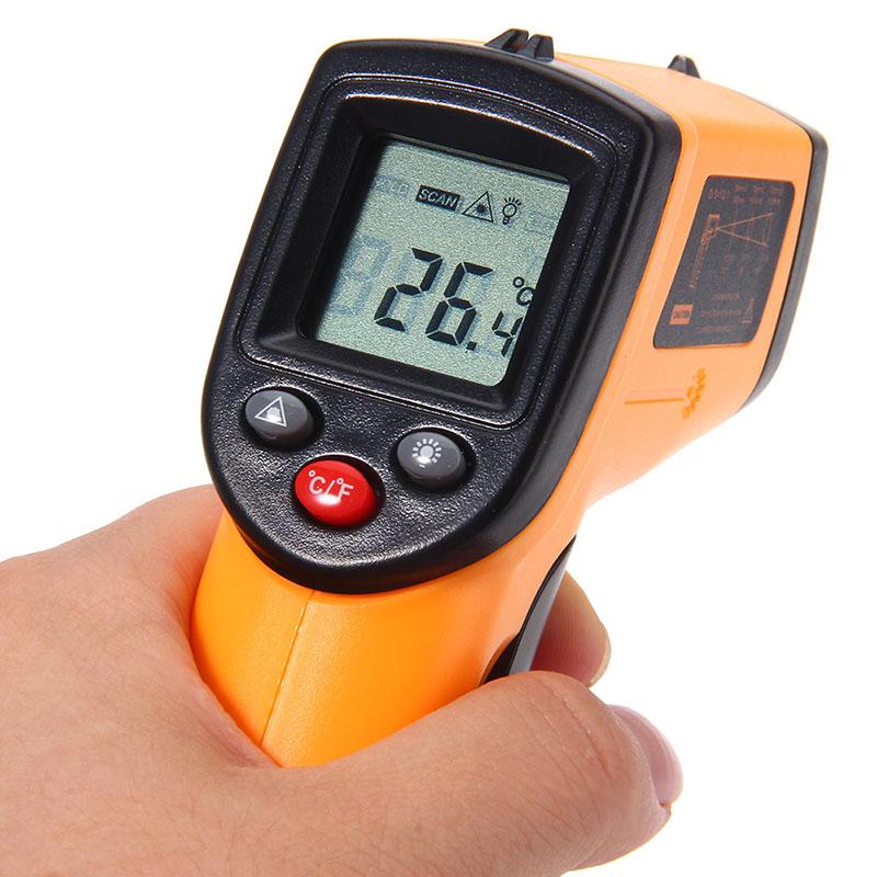 Thermomètre Infrarouge Sans contact écran LCD