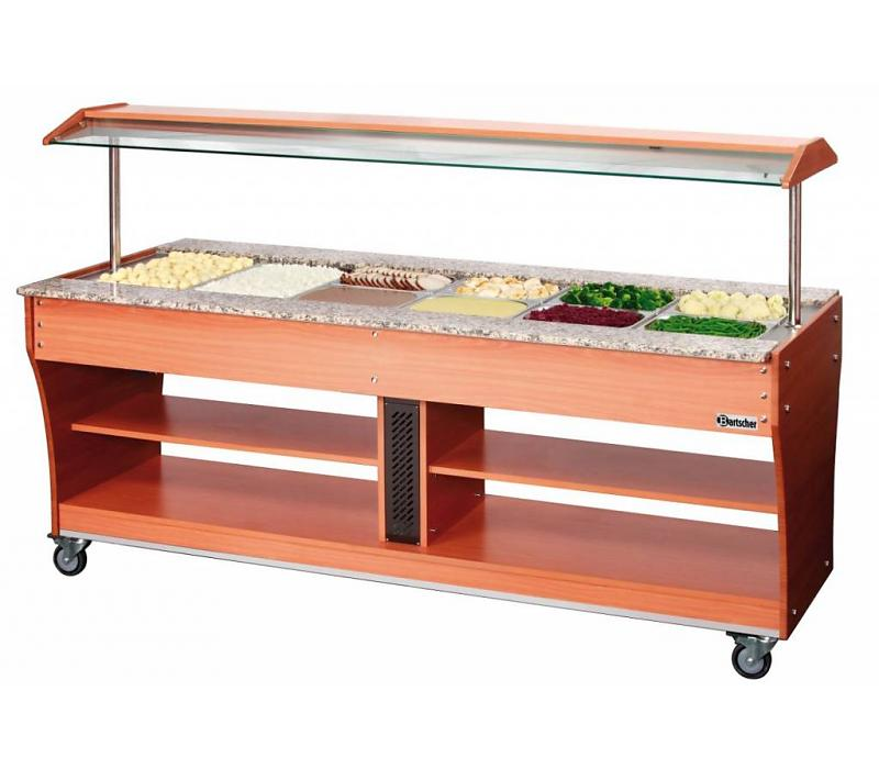 Chariot buffet froid, 6x1/1GN, P150
