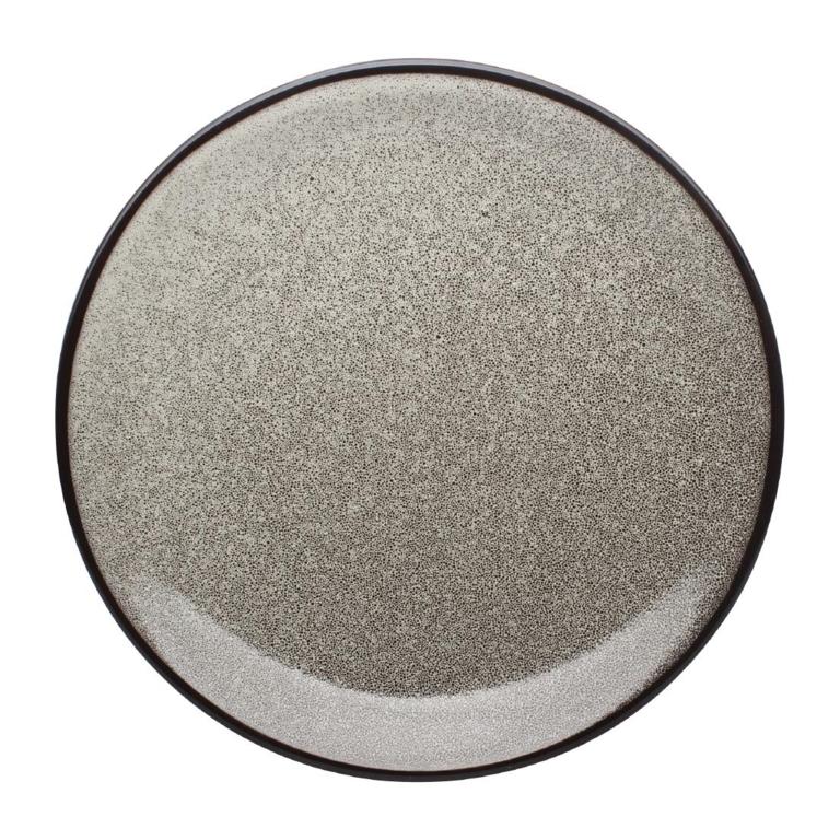 Assiettes plates rondes Mineral 230mm par 6