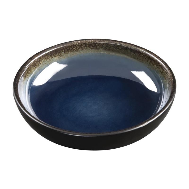 Plats à tapas profonds Nomi bleus 20mm par 12