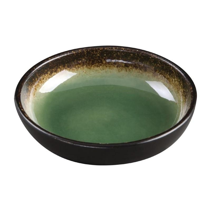 Plats à tapas profonds Nomi verts 20mm par 12