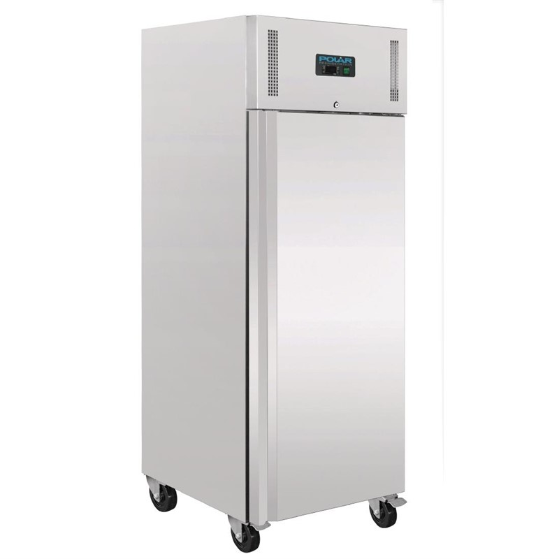 r frig rateur professionnel gastronorme 1 porte 650l r frig ration armoires r frig r es euroreca. Black Bedroom Furniture Sets. Home Design Ideas
