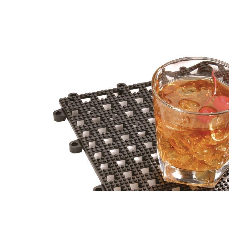 Tapis de bar emboîtable 310 x 310 mm