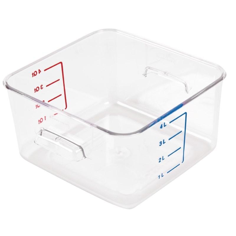 Boîte carrée de stockage 4L Rubbermaid