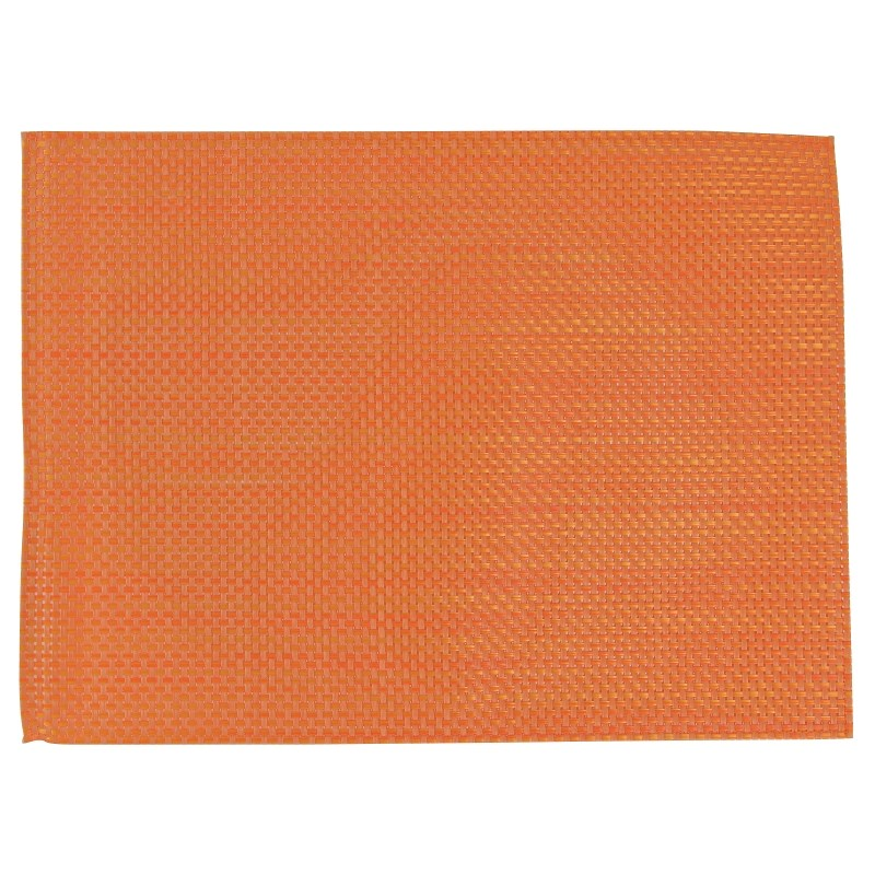 Set de table en PVC APS orange par 6