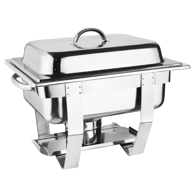 Chafing Dish Milan Olympia GN 1/2 inox - 3,7 L SOLDES