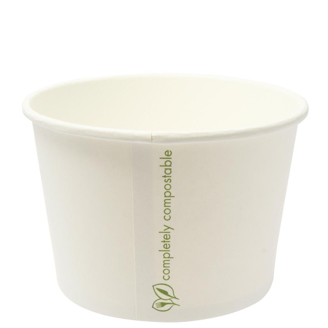 Bols à soupe / glace compostables Vegware 350ml