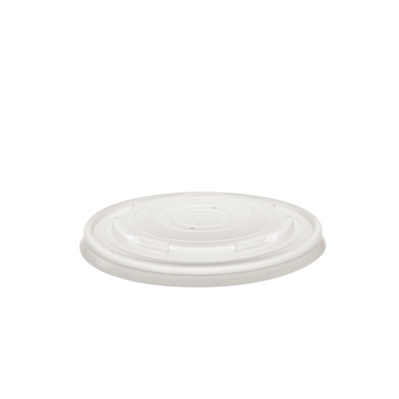 Couvercles pour bols à soupe compostables Vegware