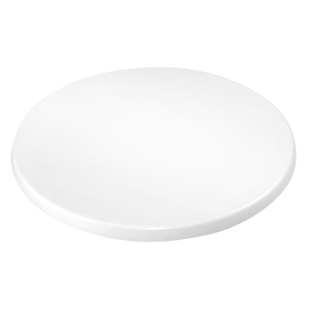 Bolero Plateau de table rond 600 mm blanc