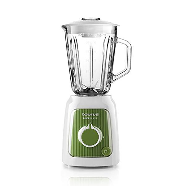 Bol mixeur Taurus Prior Glass 1,5 L 600W Blanc Vert