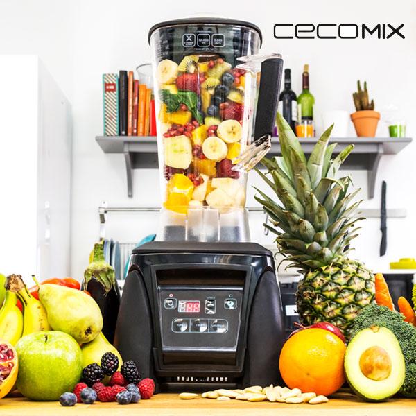 Bol mixeur Cecomix Power Titanium Pro 4027 LED 2,8 L 2200W Noir