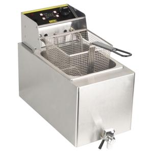 Friteuse Pro 8 litres avec robinet 2900W